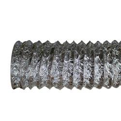 Flexibilis alumínium cső perforációval – Ø 125 mm / 10 m
