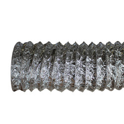 Flexibilis alumínium cső perforációval – Ø 160 mm / 10 m