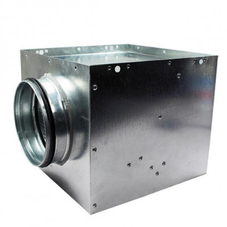 Plenum box anemosztáthoz - Ø 160 mm / 290 x 290 mm