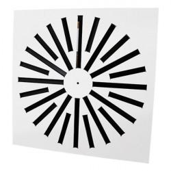 Perdületes anemosztát négyzet alakú AMS - 593 x 593 mm / 24