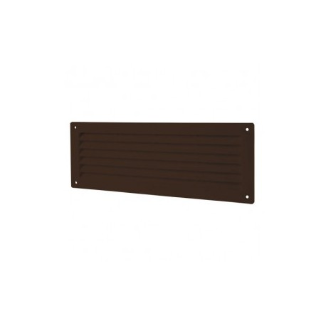 Barna ajtórács DALAP GP 350 (368x130 mm)