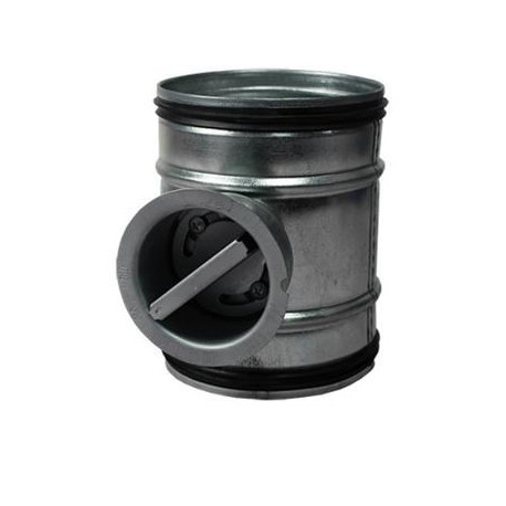 Visszacsapó szelep manuális, gumitömítéssel Ø 80 mm