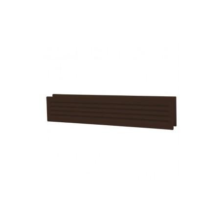 Barna ajtórács DALAP GP 430/2 (453x91 mm)
