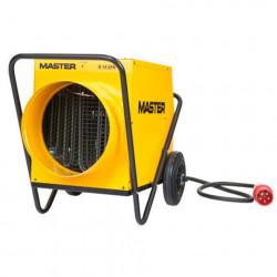 MASTER B18 elektromos hőlégfúvó, légvezető cső csatlakozóval (mobil fűtőberendezés)