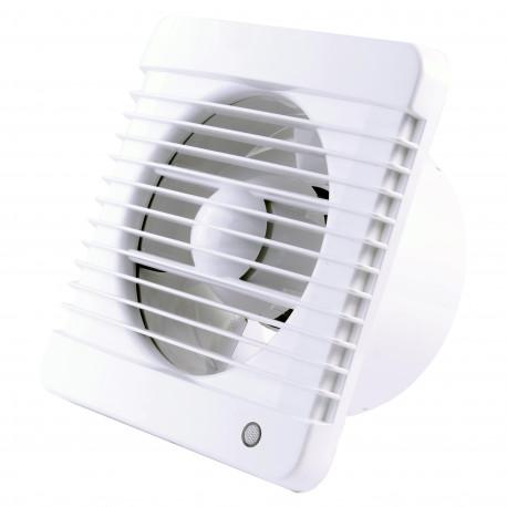 Fürdőszobai ventilátor Ø 100 mm húzókapcsolós, erősebb motorral