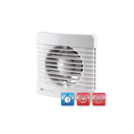 Fürdőszobai ventilátor Vents 100 MTL Turbo ventilátor goylyóscsapággyal, időzítővel és nagyobb teljesítménnyel