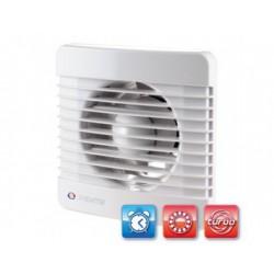 Fürdőszobai ventilátor Vents 125 MTL Turbo ventilátor goylyóscsapággyal, időzítővel és nagyobb teljesítménnyel