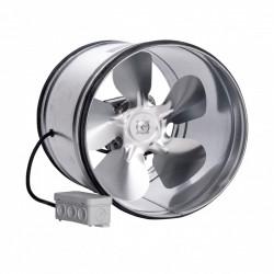 Fém csőventilátor tömítő gumival Ø 315 mm