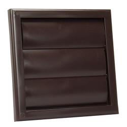 Műanyag barna szellőzőrács DALAP GP 100 R