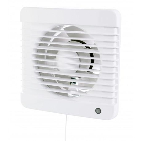 Fürdőszobai ventilátor húzókapcsolóval 12 V-os Dalap 100 Grace