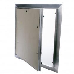 Porálló gipszkarton betétes szerelőajtó 500x500 mm