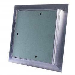 Impregnált, porálló gipszkarton betétes szerelőajtó 200x200 mm