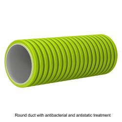 Rugalmas antisztatikus, antibakteriális körcsatorna Ø 63 mm, hossza 50 m