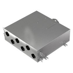 Fémelosztó doboz Flexitech Ø 63 mm rendszer csatlakoztatására 6 kimenettel