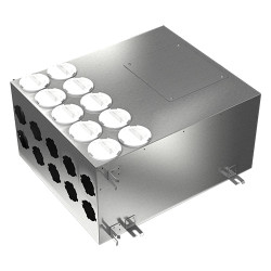 Fémelosztó doboz Flexitech Ø 75 mm rendszer csatlakoztatására 10 kimenettel