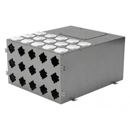 Fémelosztó doboz Flexitech Ø 63 mm rendszer csatlakoztatására 15 kimenettel
