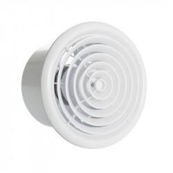 Fürdőszoba ventilátor Ø 100 mm kör alakú kivitelben