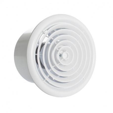 Fürdőszoba ventilátor Dalap MIRO Ø 100 mm kör alakú kivitelben