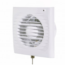 Fürdőszoba ventilátor Dalap 100 ELKE L húzókapcsolóval
