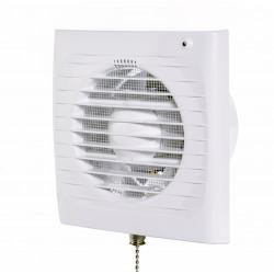 Fürdőszoba ventilátor Dalap 100 ELKE LZ húzókapcsolóval, időzítővel