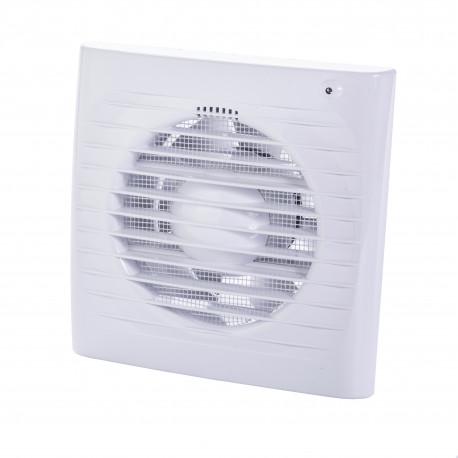 Fürdőszoba ventilátor Dalap 100 ELKE ZW páraérzékelővel, időzítővel