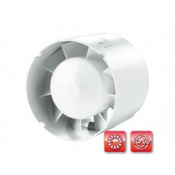 Csőventilátor Dalap 125 SDZ, emelt teljesítménnyel és időzítés