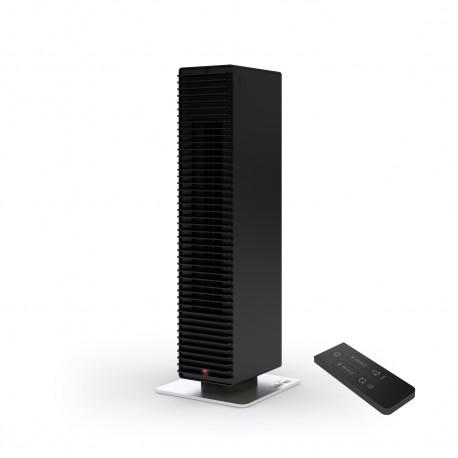 Modern fűtőventilátor távirányítóval Stadler Form PAUL, fekete