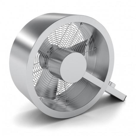 Modern Q alakú padlóventilátor ezüst