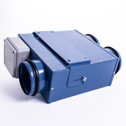 Radiális csőventilátor Dalap LIN mini két kimenettel Ø 80 mm