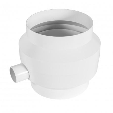 Műanyag kondenzvíz gyűjtő Ø 125 mm vízlecsapódás elvezetésére a csővezeték belsejéből