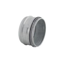Fém végzáró gumi tömítéssel légcsatornákhoz Ø 80 mm