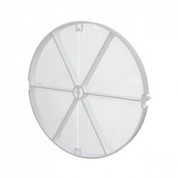 Műanyag visszacsapó szelep ventilátorokhoz fóliás Ø 125 mm