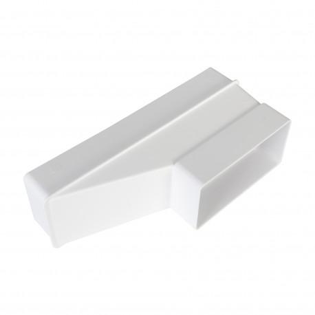 PVC átalakító idom lapos légcsatornához 204x60 mm / 110x55 mm
