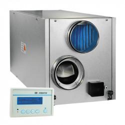 Központi hővisszanyerő egység függőleges, előmelegítővel Ø 315 mm (2200 m³/h)