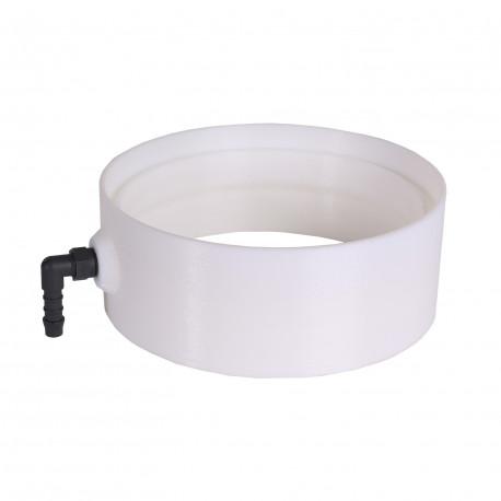 Műanyag kondenzvízgyűjtő Ø 150 mm párakicsapódás elvezetésére a csővezetékekből