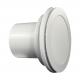 Modern formatervezésű ventilátor világítással és golyós csapágyazással Ø 100 mm