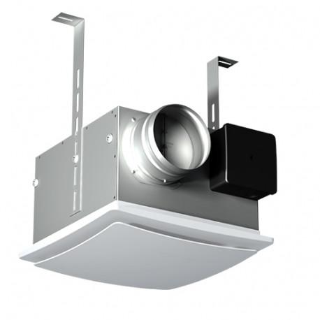 Ipari ventilátor állmennyezetbe visszacsapó szeleppel és szűrővel Ø 100 mm