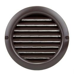 Műanyag kerek barna szellőzőrács DALAP GP 150 RUN BROWN
