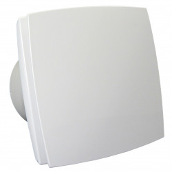 12V-os ventilátor előlappal, időzítővel és páraérzékelővel párás környezetbe, Ø 100 mm