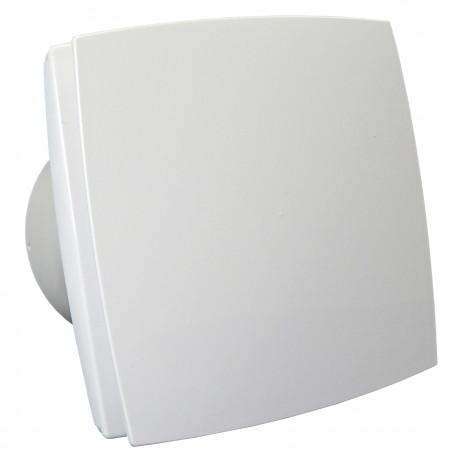 12V-os ventilátor előlappal, időzítővel és páraérzékelővel párás környezetbe, Ø 125 mm