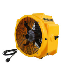 Master DFX 20 hordozható professzionális ventilátor csővezeték csatlakoztatásának lehetőségével