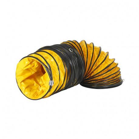 Rugalmas csővezeték Ø 410 mm, 7,6 m a Master BL 8800 ventilátorhoz, sárga