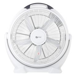 Dalap SILVIA fehér színű padló ventilátor, Ø 50 cm