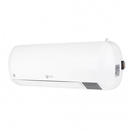 Dalap HW 6206 fali elektromos hősugárzó ventilátorral és távirányítóval