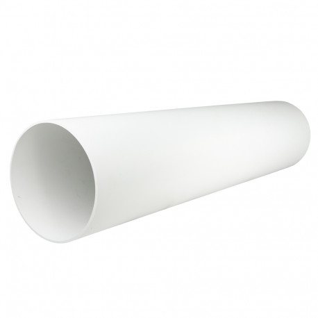 Hosszabbító csővezeték a Dalap ZEPHIR SIMPLE és a SIMPLE DOUBLE szobai hővisszanyerő készülékekhez, fehér
