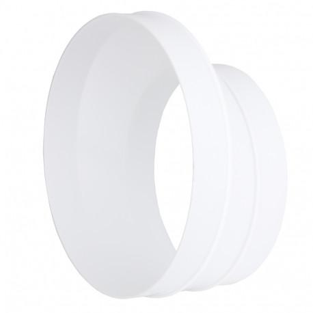 Dalap 317 műanyag excentrikus szűkítő idom kerek csővezetékekhez Ø 125 / 150 mm