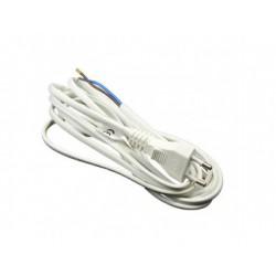 Hálózati kábel 2x0,75 mm szürke (3 méter)