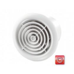 Fürdőszobai ventilátor Vents 125 PFL  rovarhálóval, golyóscsapággyal