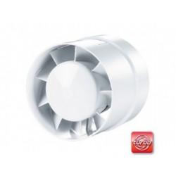 Csőventilátor Vents 125 VKO Turbo, emelt teljesítménnyel