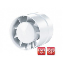 Csőventilátor Vents 125 VKO L Turbo, emelt teljesítménnyel